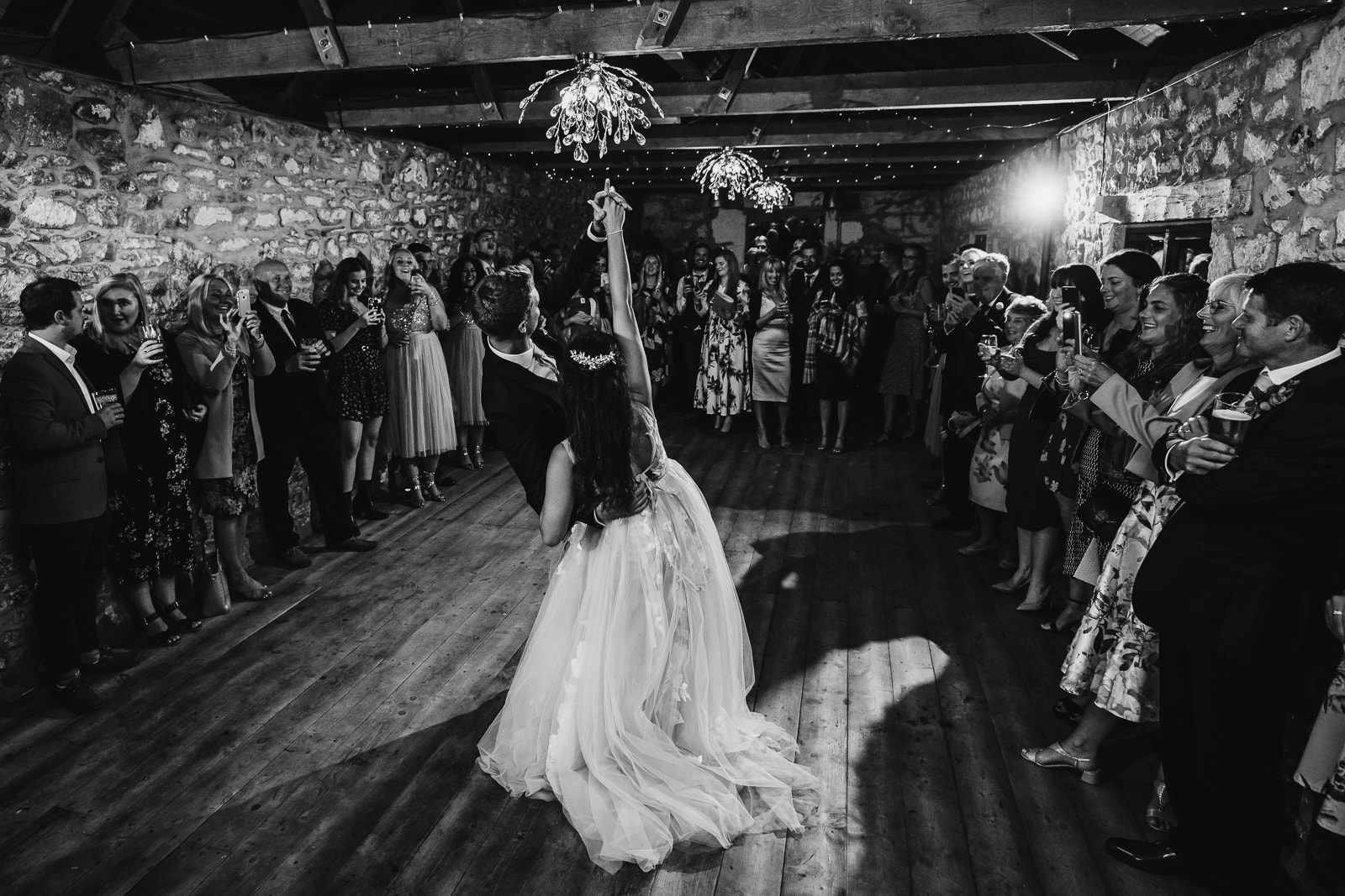 First Dance image at Crasken Barns