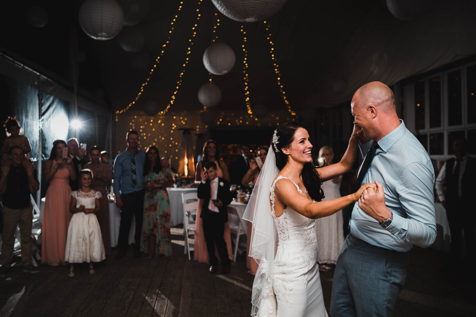 Lusty Glaze Wedding First Dance