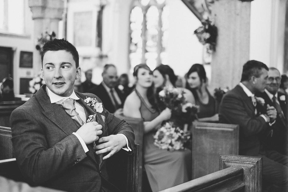 Lanydrock Church Wedding-30