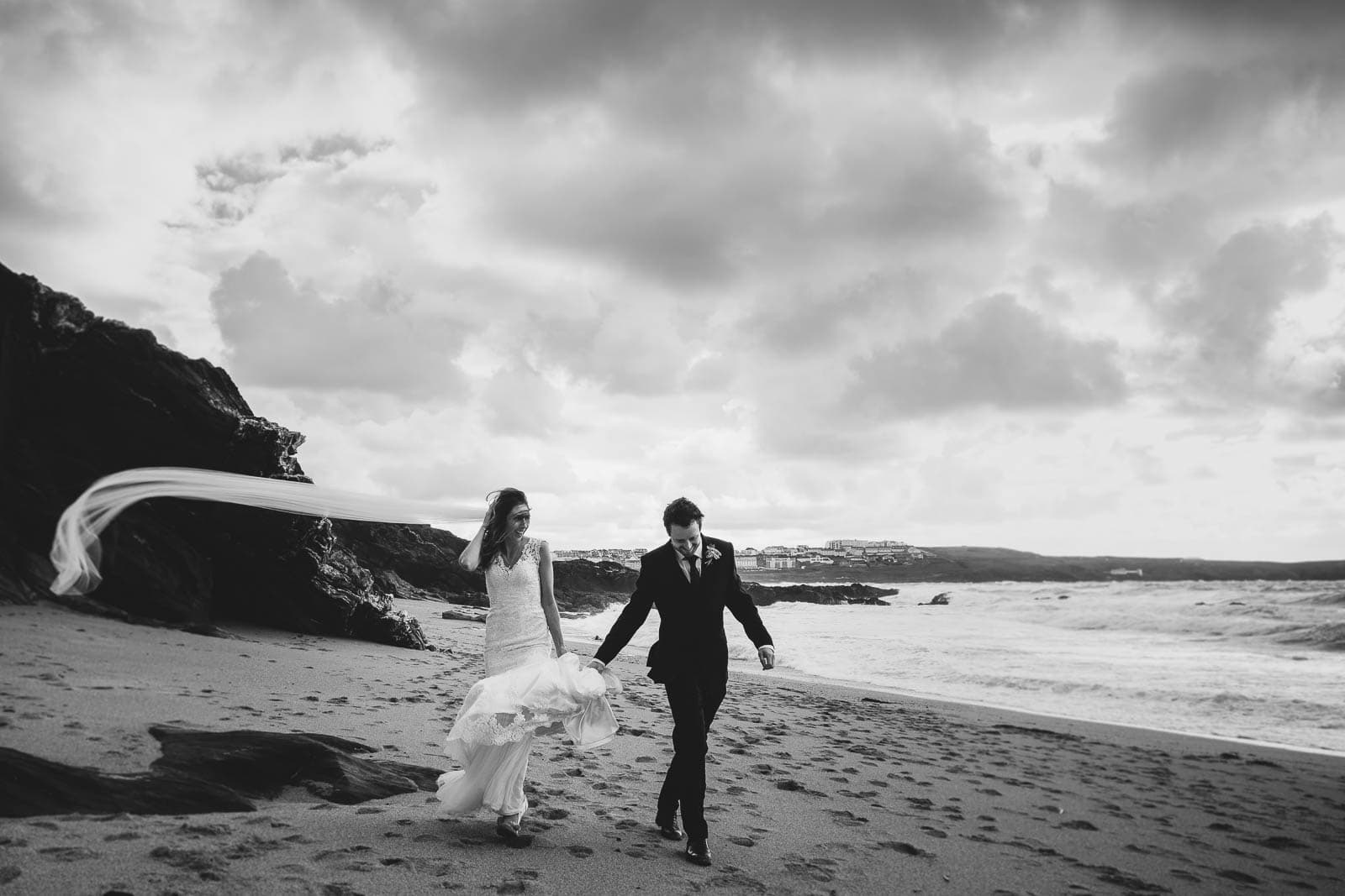 Wedding photography at the Carnmarth hotel in Newquay