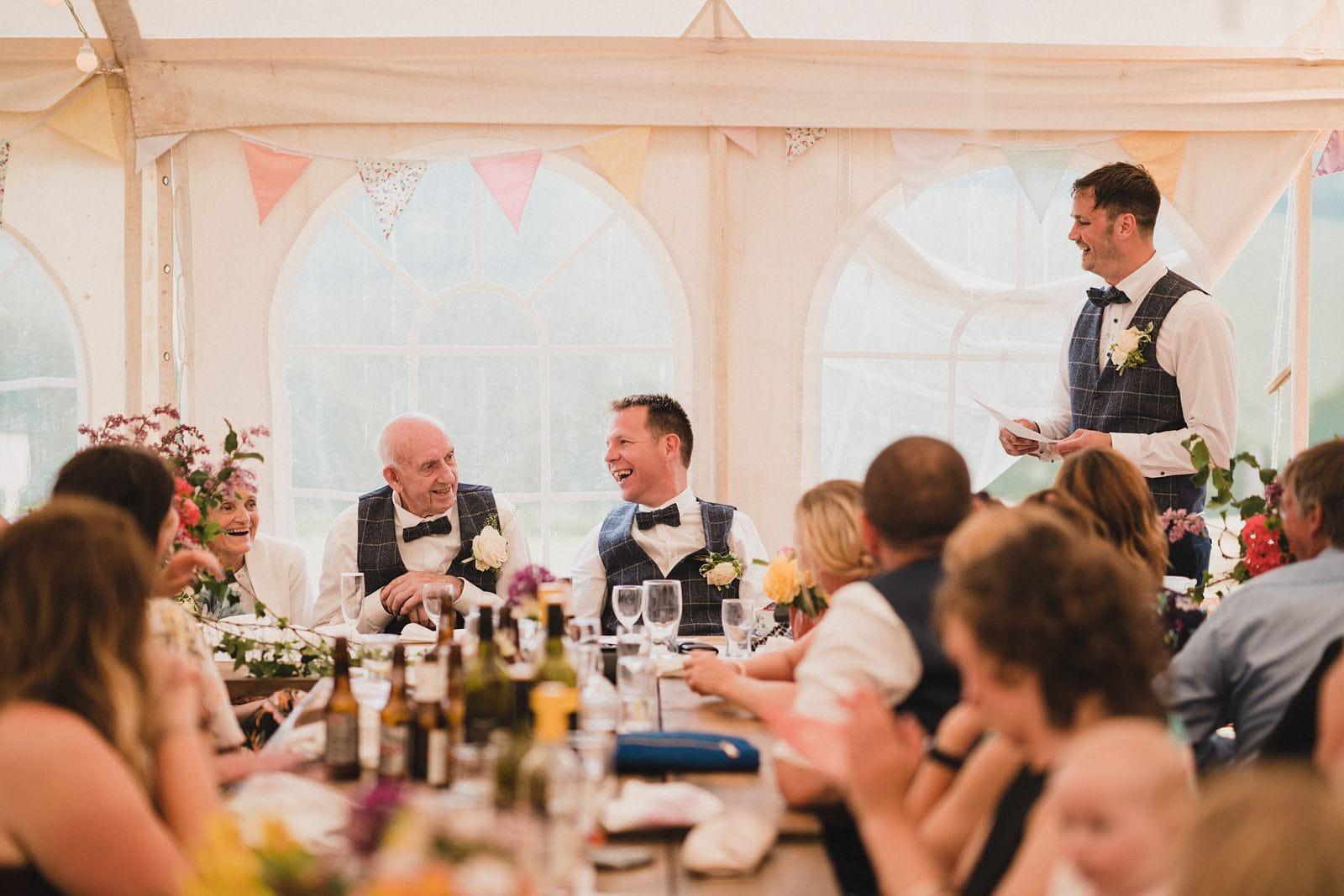 devon DIY farm wedding