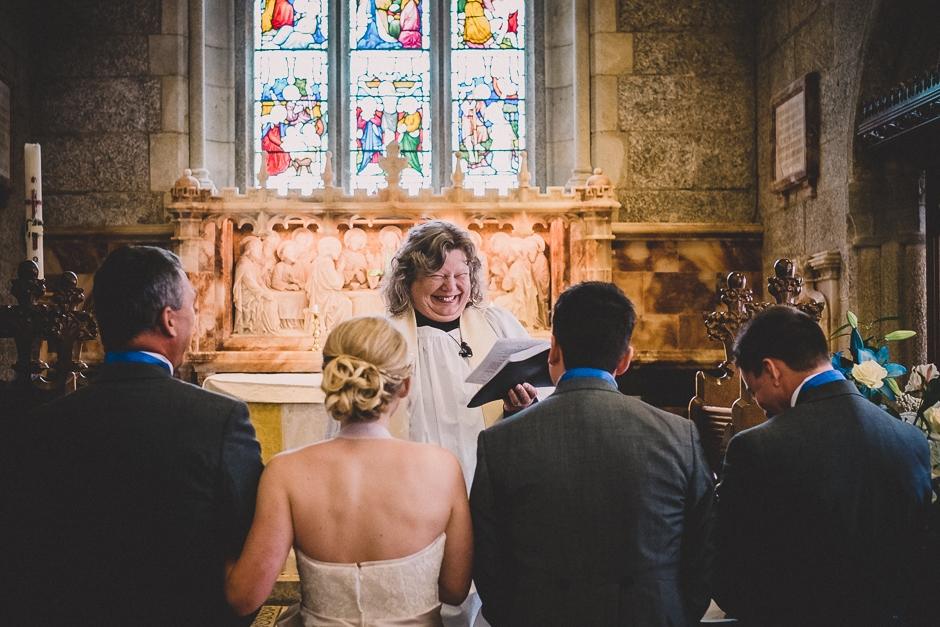 Lanydrock Church Wedding-19