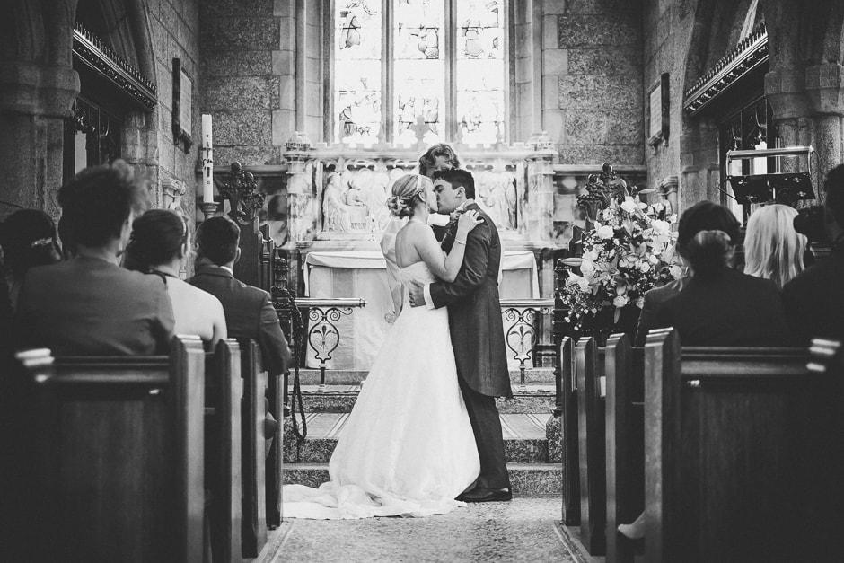 Lanydrock Church Wedding-26