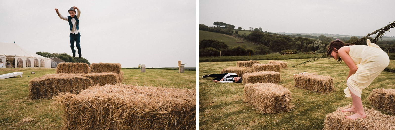 devon DIY farm wedding