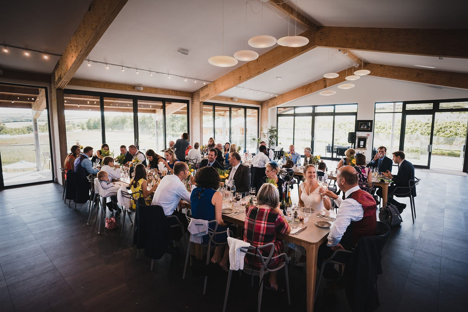 trevibban mill vineyard wedding feast