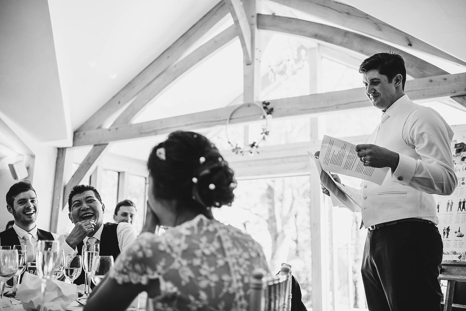 Tredudwell Manor Wedding Speeches