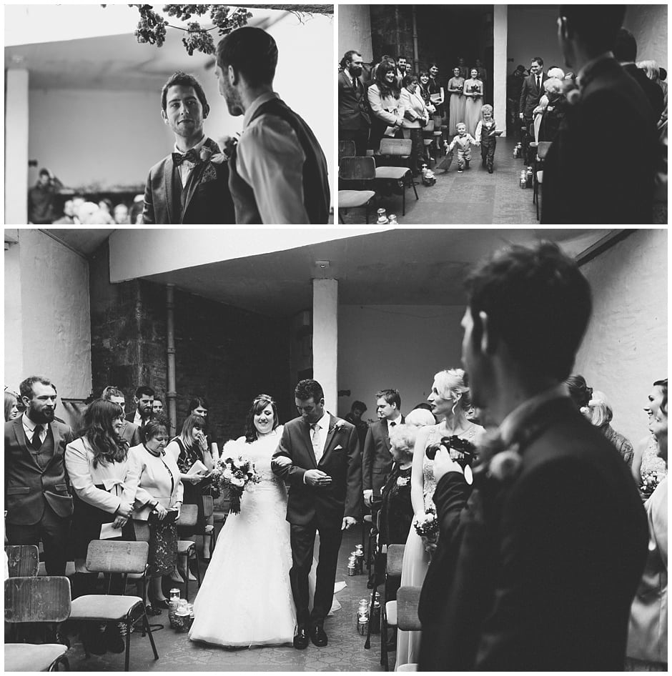 Wedding Photographer at Porth En Alls