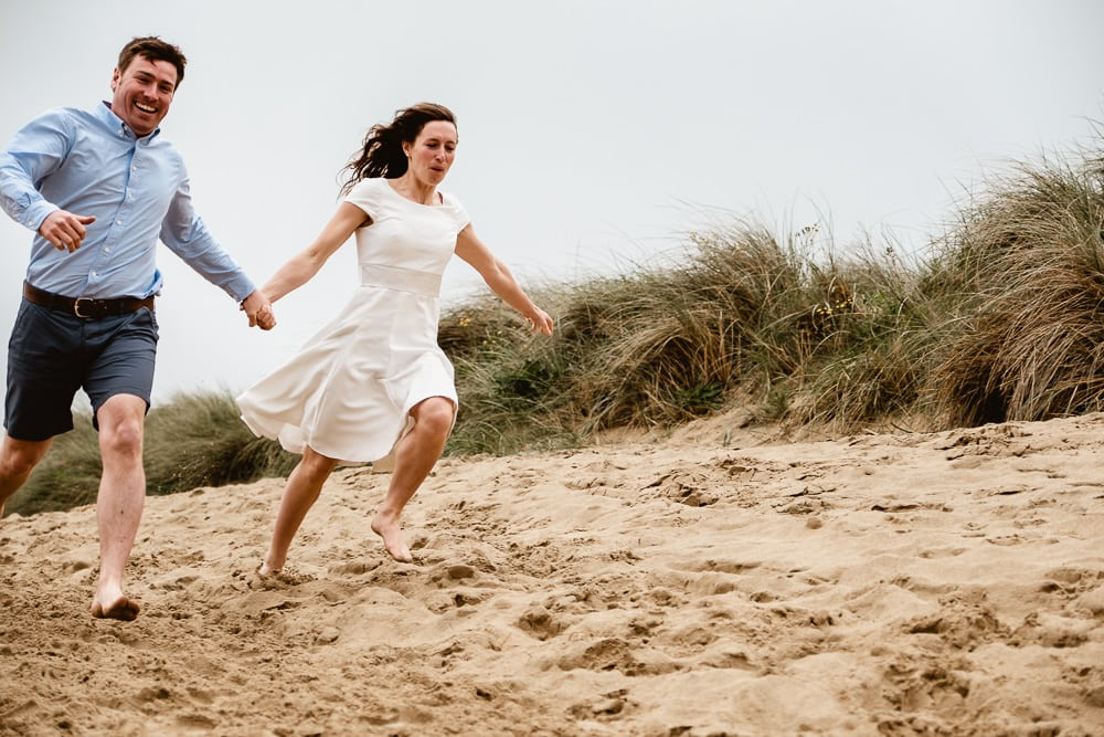 Beach Elopement Cornwall